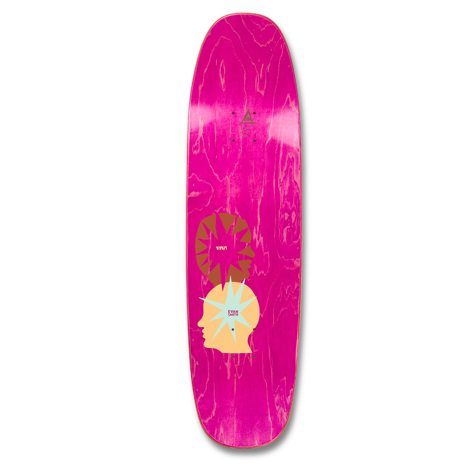 "Uma Star Head Buddies Deck 8.9"" (Shaped)"