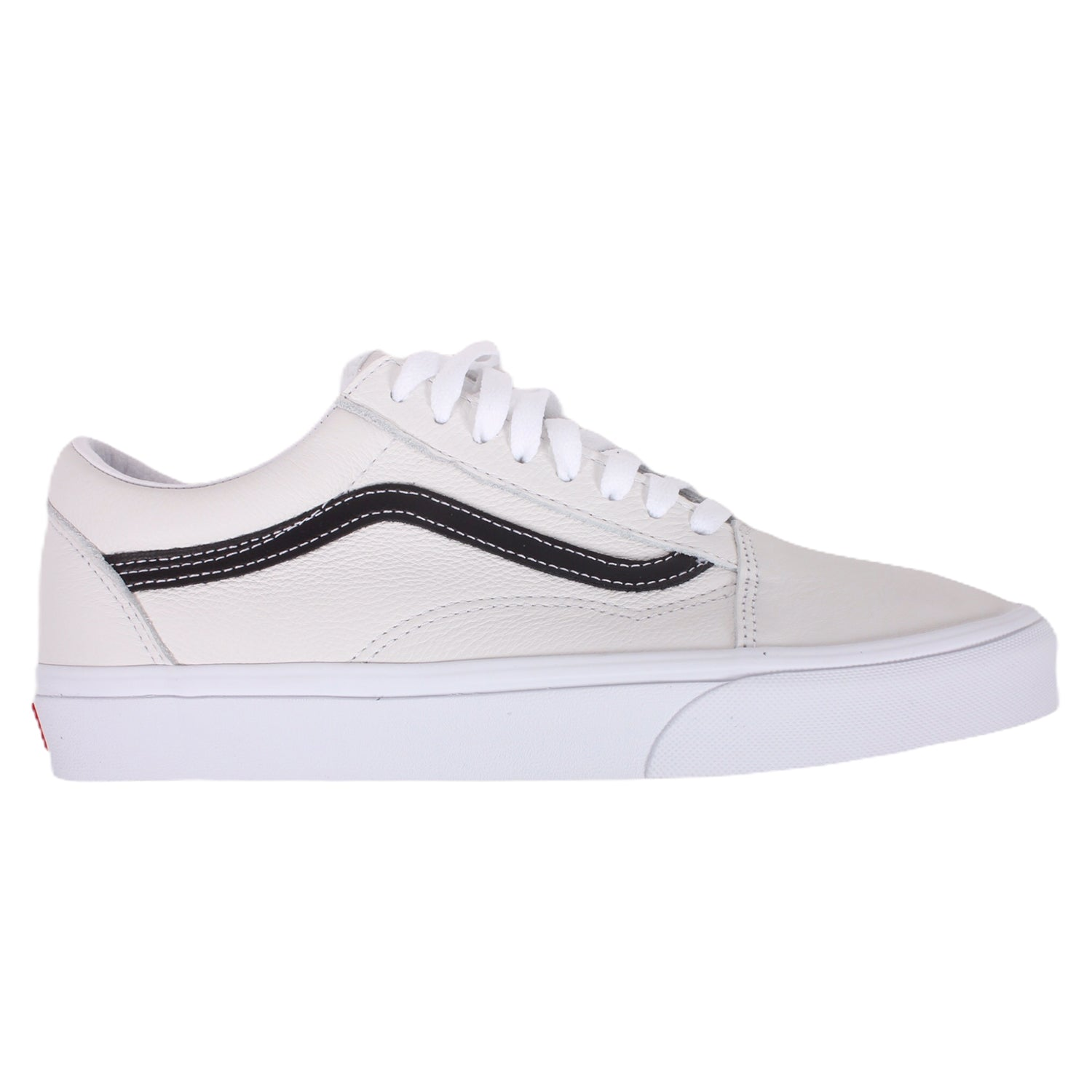 Vans UA Old Skool Leather Pop White