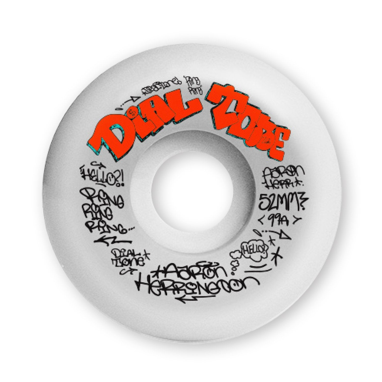 Dial Tone Wheels Herrington Vandal 2 Conical 99a 52mm