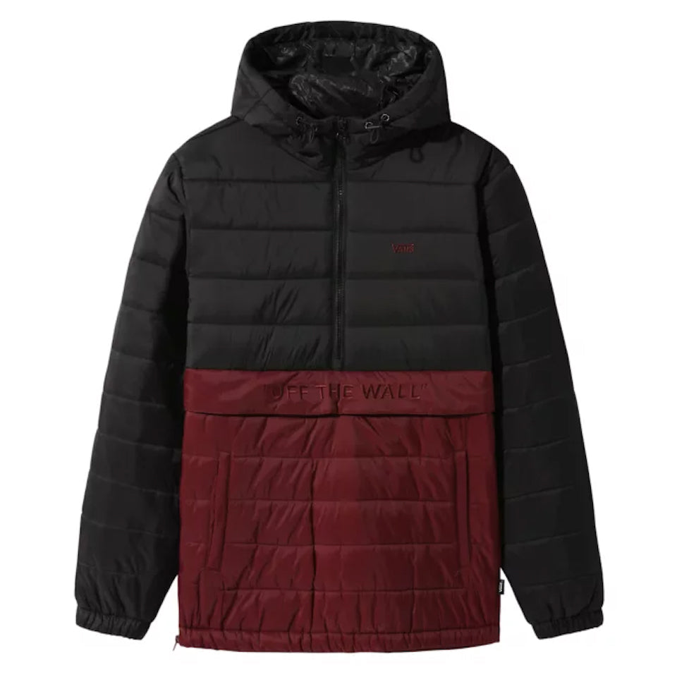 Vans Carlton Puffer Anorack Black/Port Royal