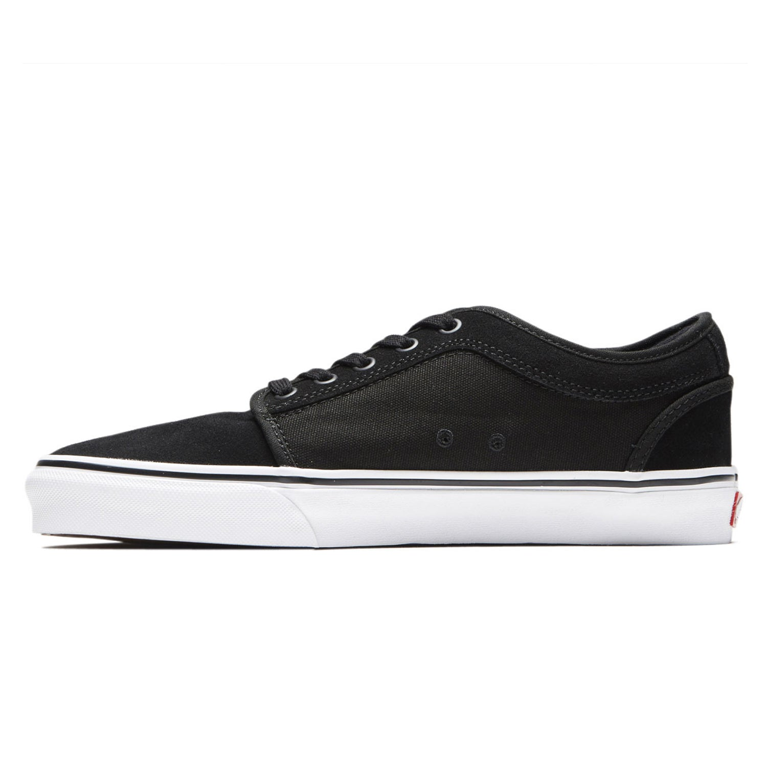 Vans Chukka Low (Suede) Black/True White