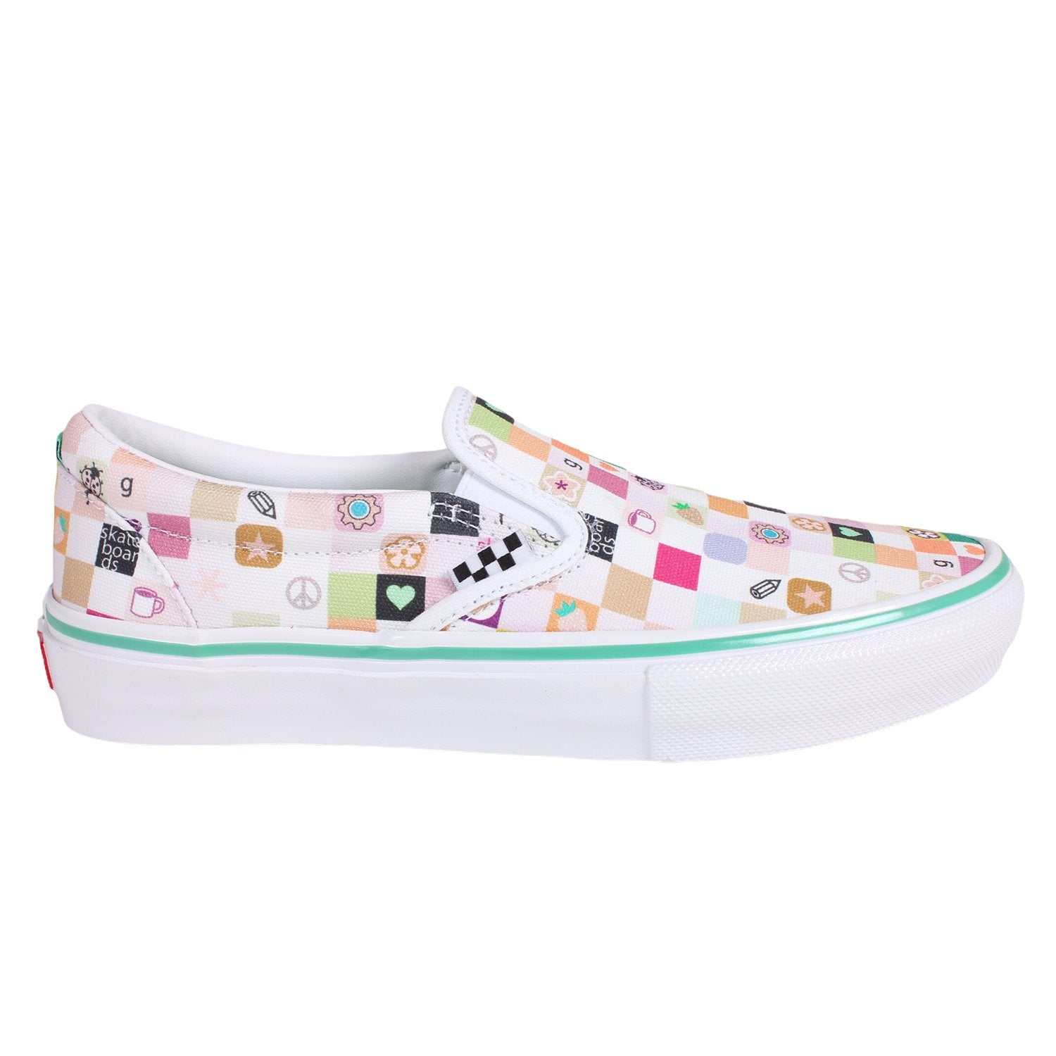 Vans Skate Slip On LTD Frog White/White