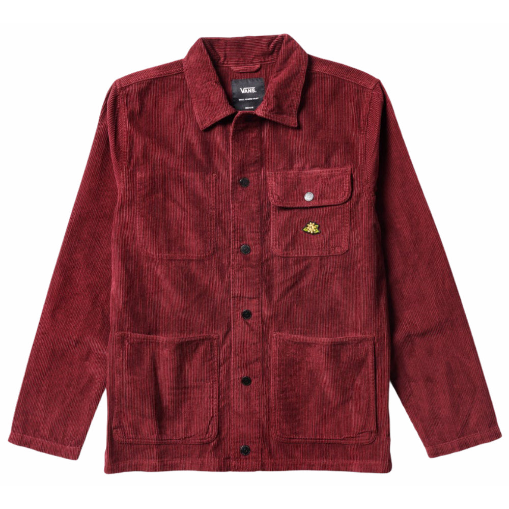 Vans Micro Dazed Corduroy Chore Coat Port Royale