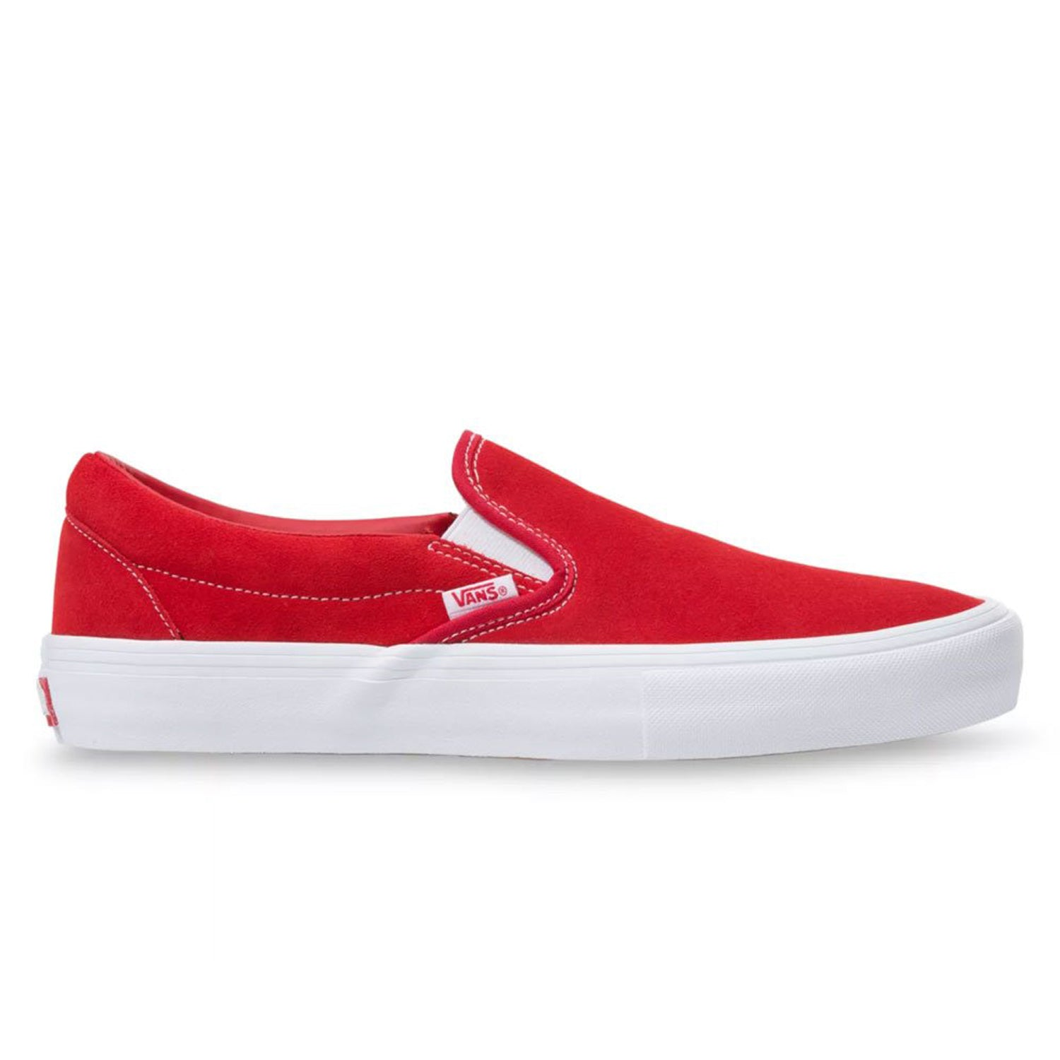 Vans Slip-On Pro (Suede) Red/White