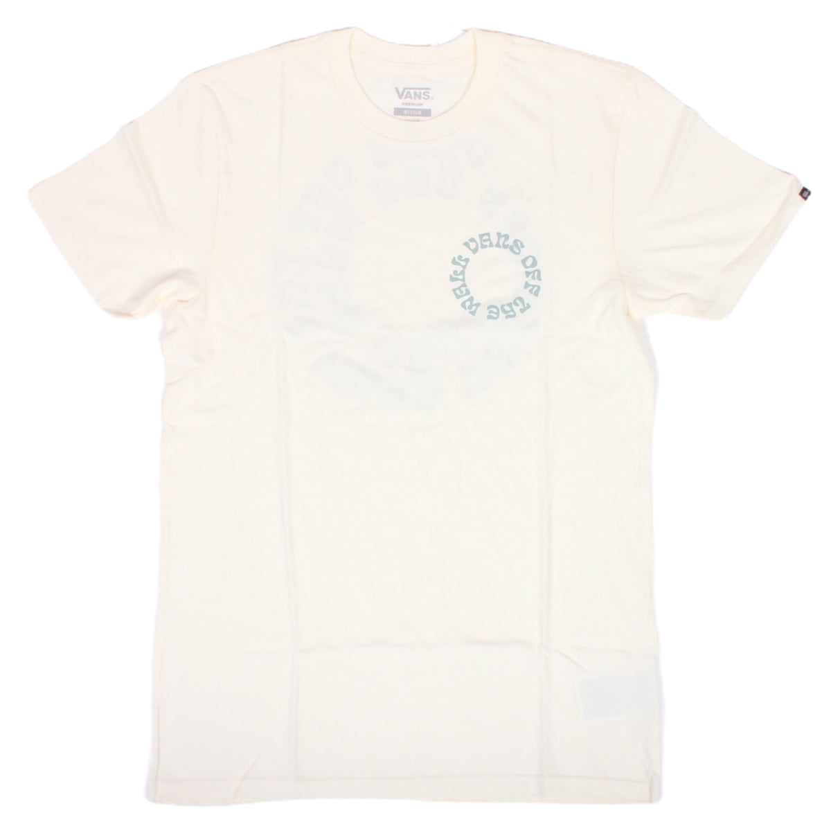 Vans Pro Skate Washed Tee Antique White