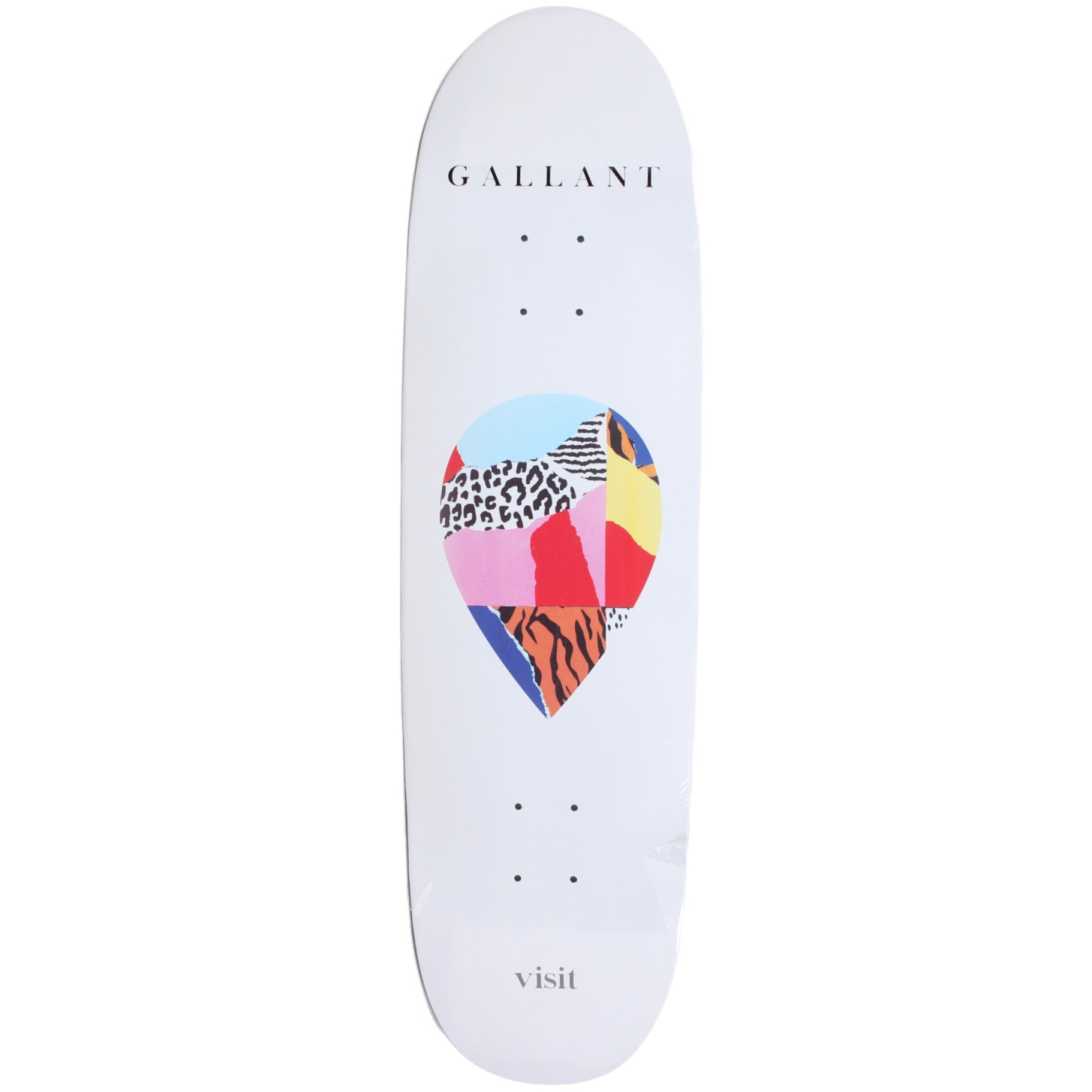 Visit Ryan Gallant Scrap Logo Deck (Football Shape) 8.75""