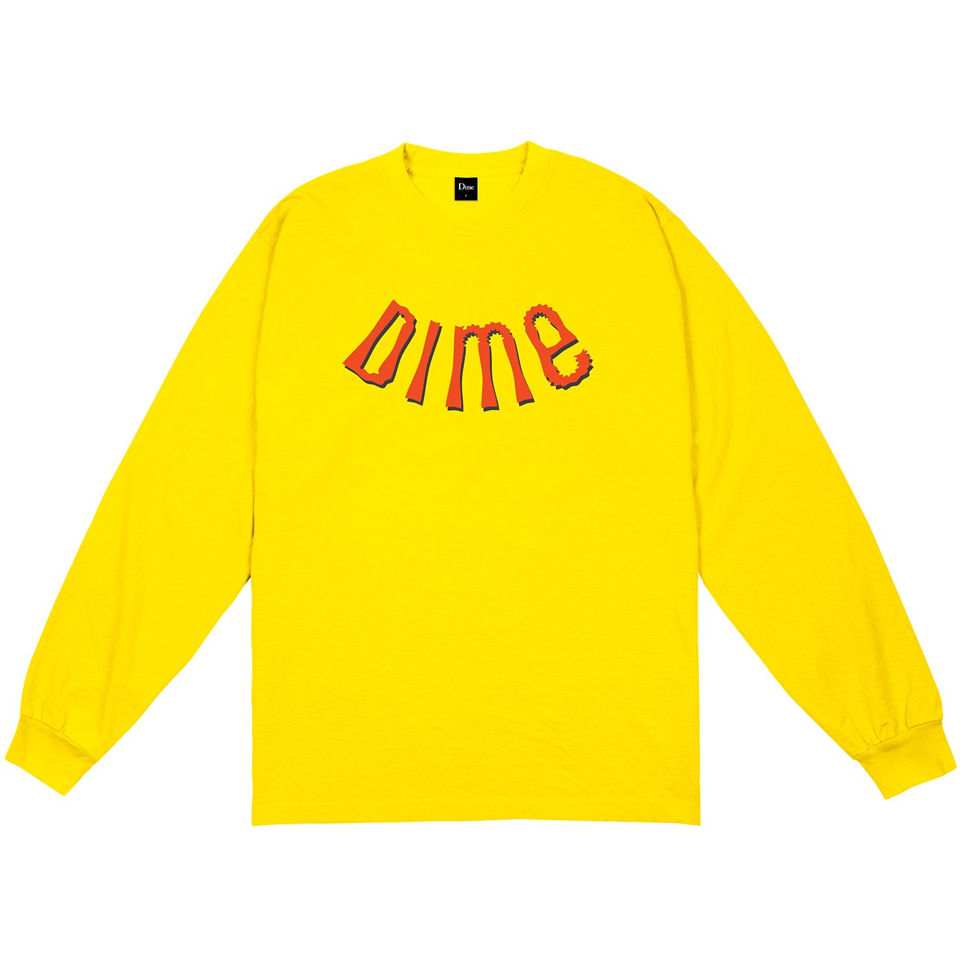 Dime Whirl Long Sleeve Tee Gold