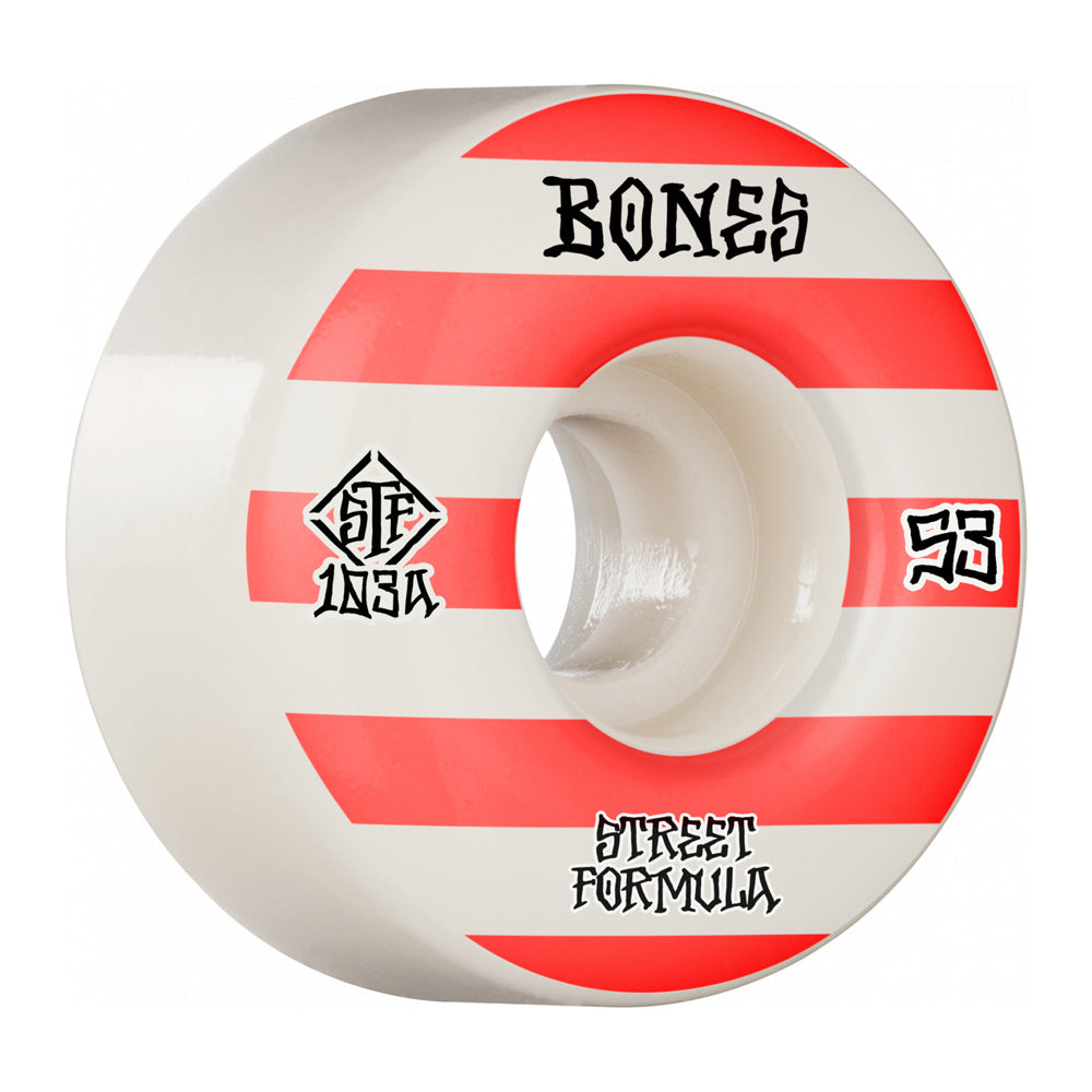 Bones Wheels Patterns V4 Wide STF 103A 53mm