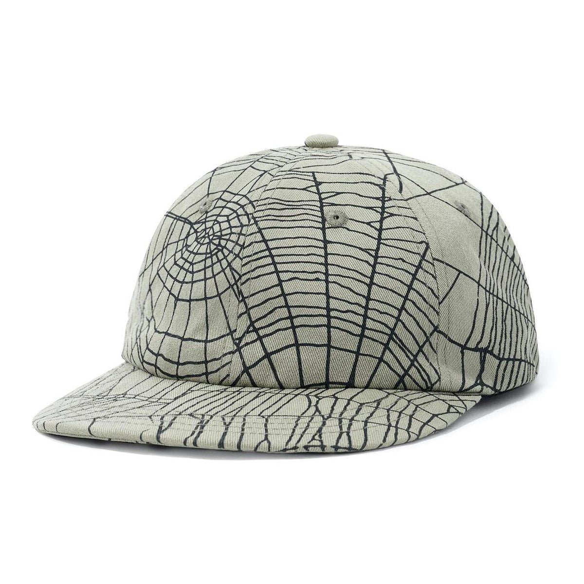 Butter Goods Web 6 Panel Cap Army
