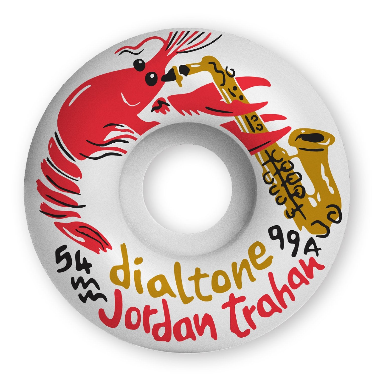 Dial Tone Wheels Trahan Zydeco Standard 99a 54mm