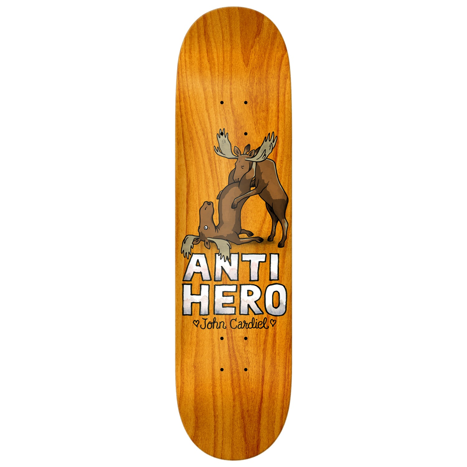Anti Hero Lovers II Deck Cardiel 8.62