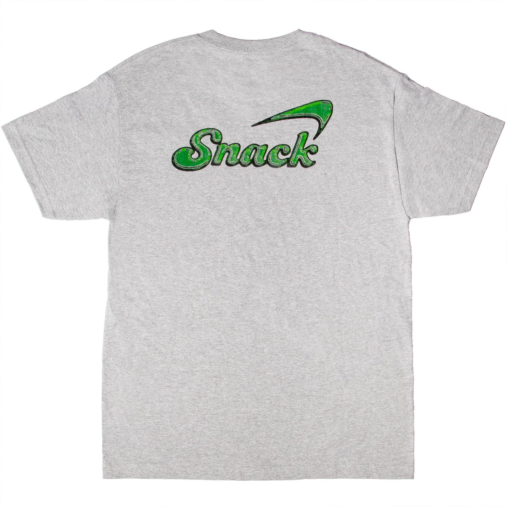 Snack Alive Glass Tee Grey