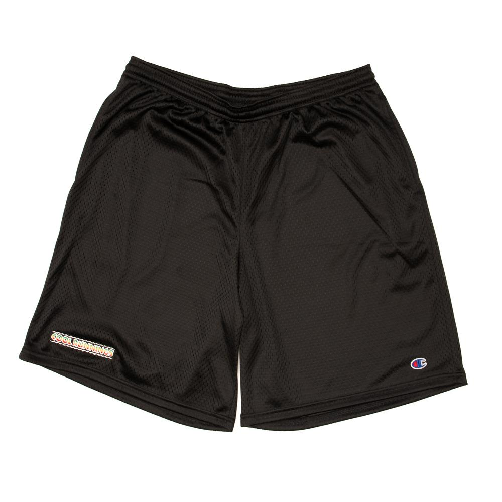 Alltimers Cool Runnings Mesh Shorts Black