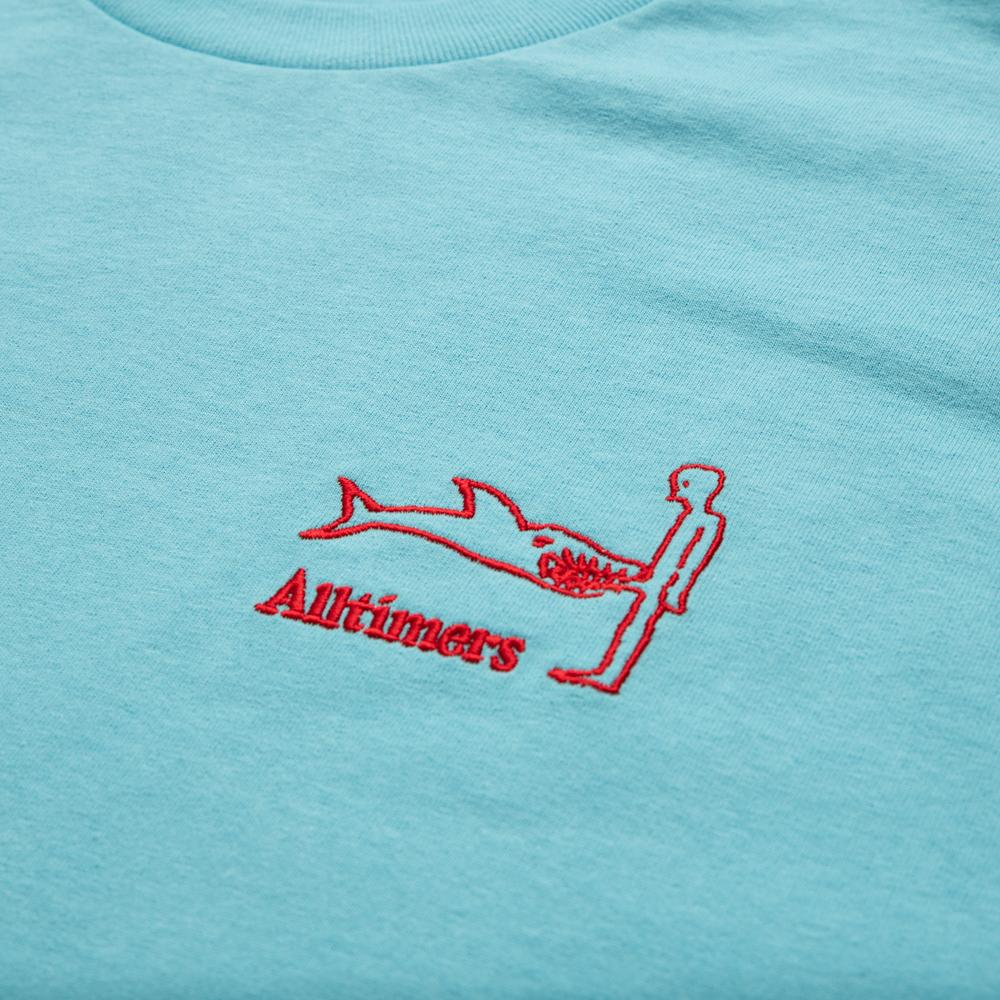 Alltimers Shark Dick Tee Pacific Blue