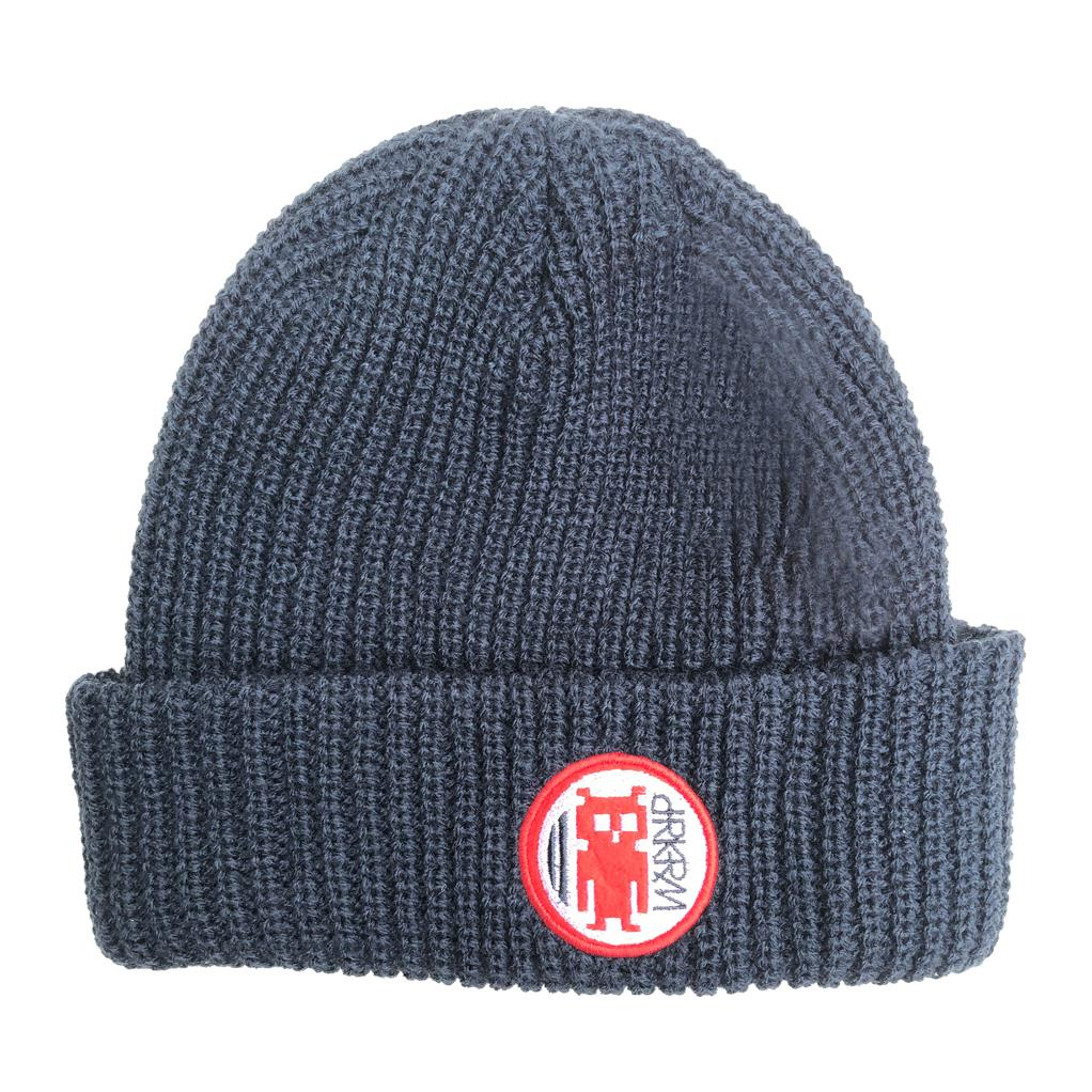 Darkroom Invader Beanie Navy