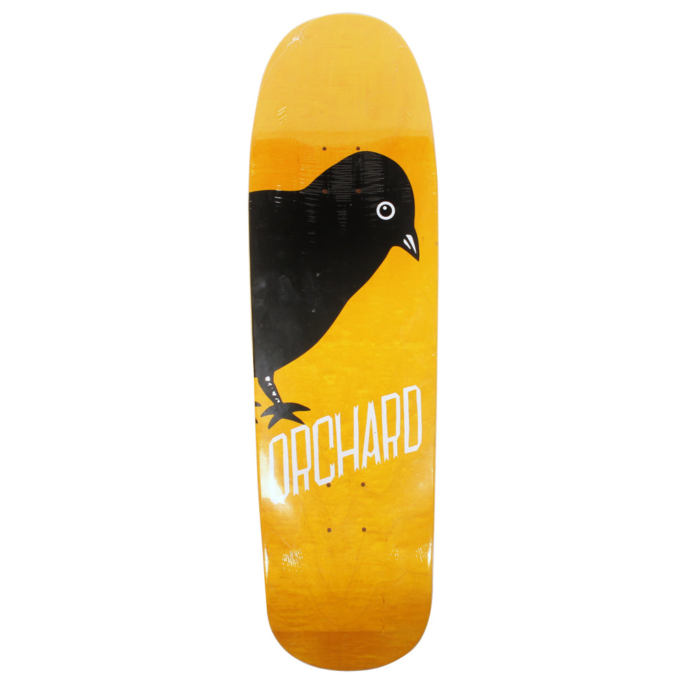 Orchard Bird Logo Deck Drippy Shape 9.12