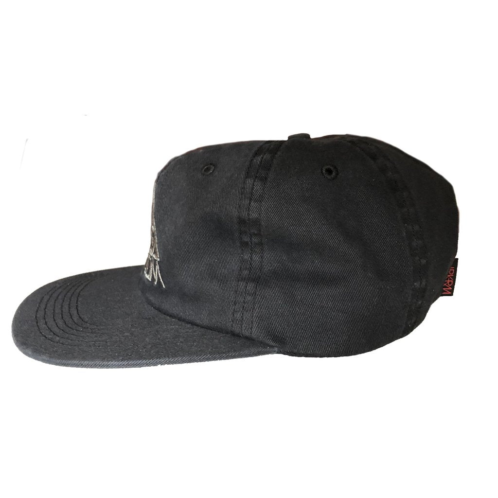 Darkroom OG 6 Panel Cap Black