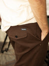Theories Cosmo Slacks Vintage Brown
