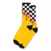 Vans Flame Check Crew Sock