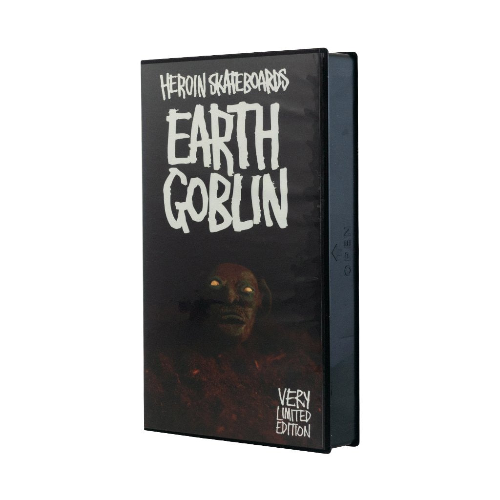 Heroin Earth Goblin VHS Tape