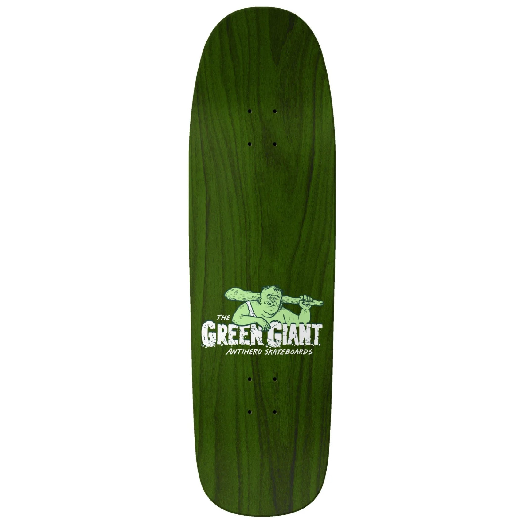 Anti-Hero Eagle Overspray Green Giant Deck 9.56""