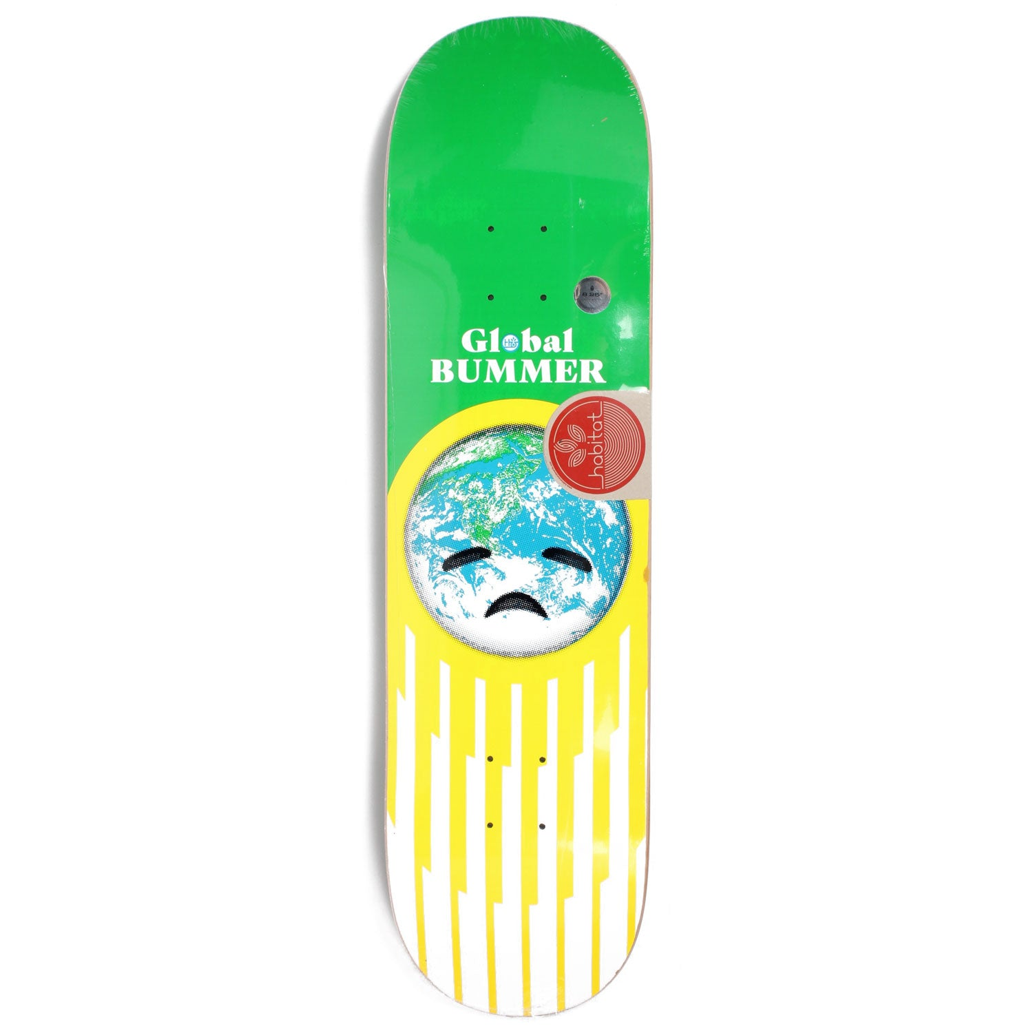 Habitat Global Bummer Deck Green 8.25