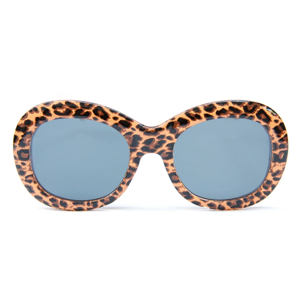 Happy Hour Bikini Beach Sunglasses Leopard