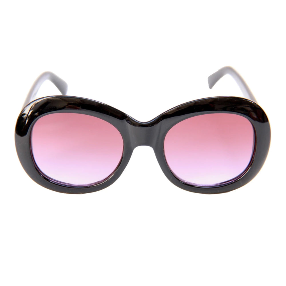 Happy Hour Bikini Beach Sunglasses Black/Purple Fade