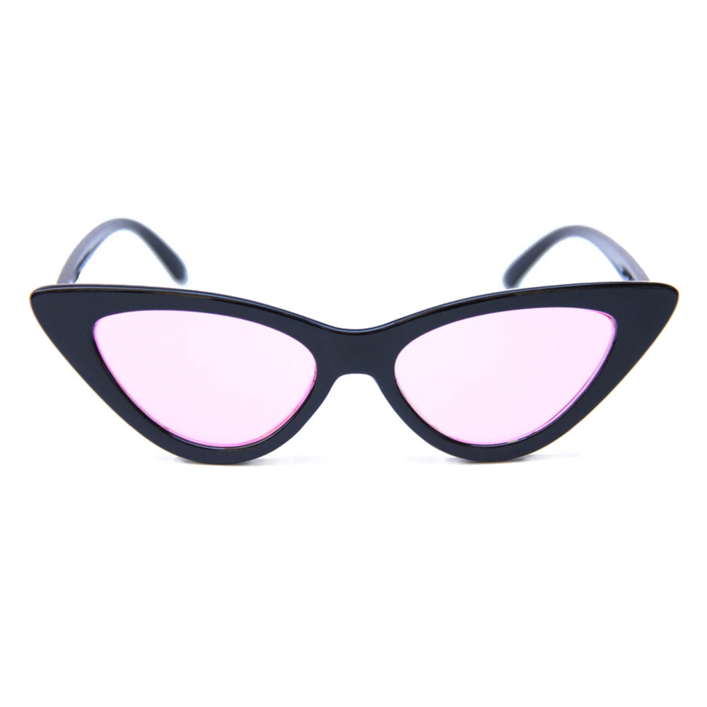 Happy Hour Space Needle Sunglasses Black/Pink Lens