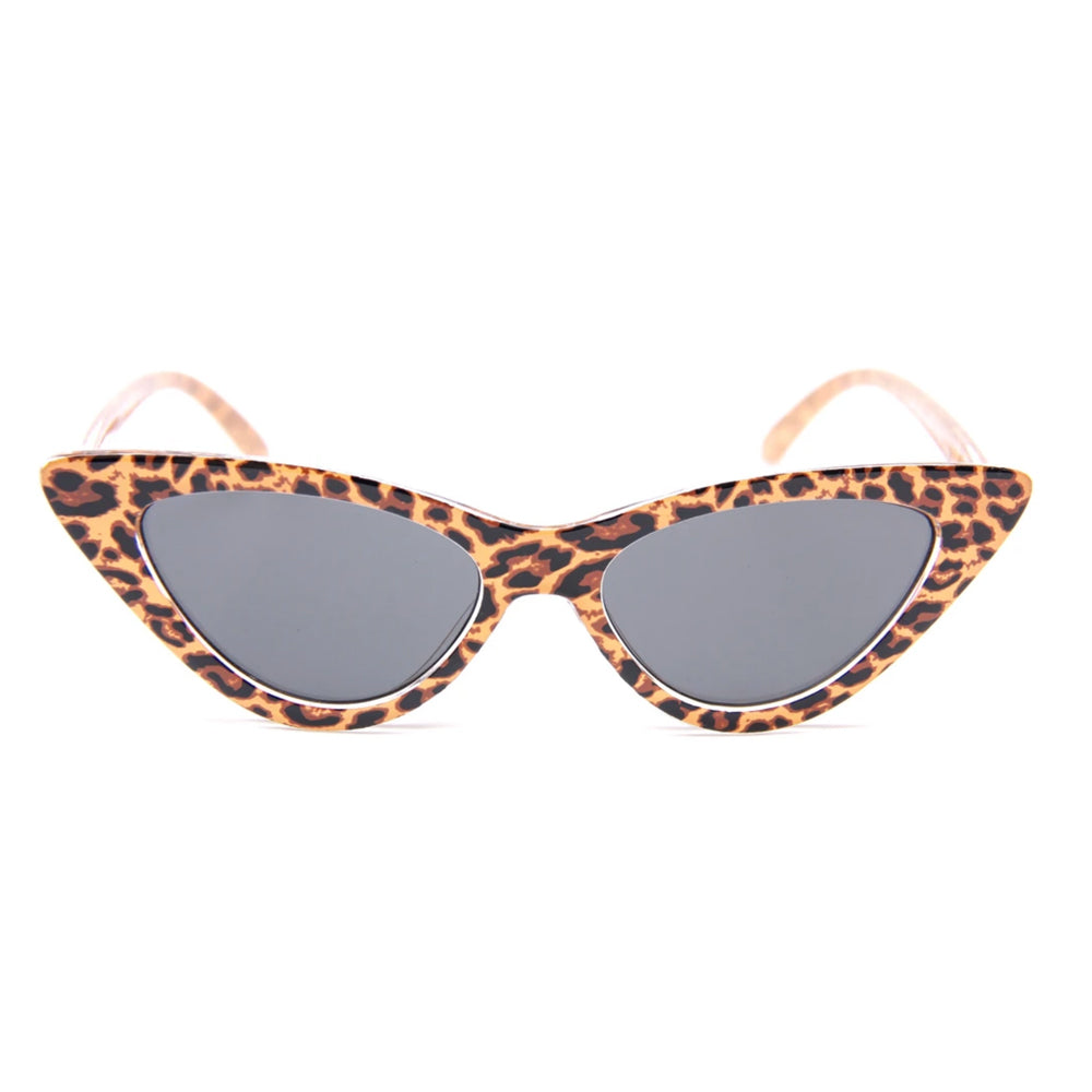Happy Hour Space Needle Sunglasses Leopard