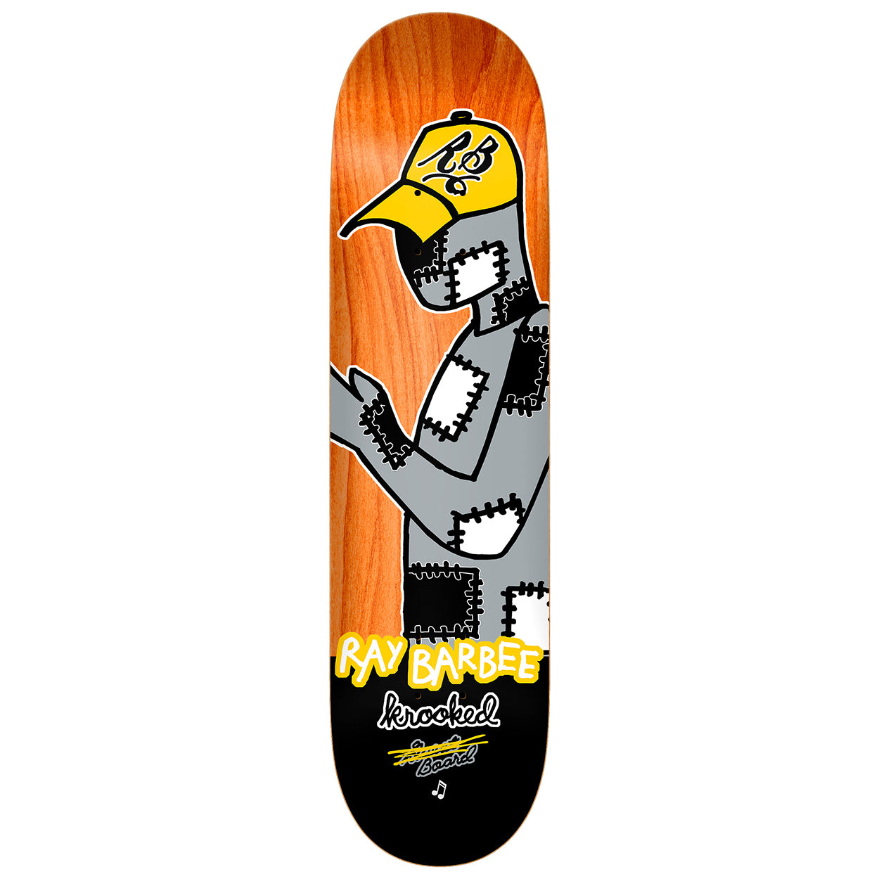 Krooked Ray Barbee Redux Deck 8.25""