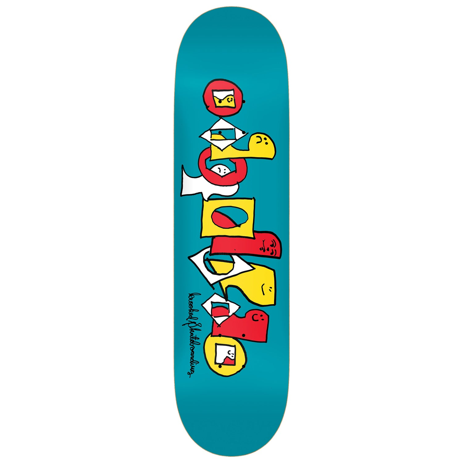 Krooked Team Pals Deck 8.25""