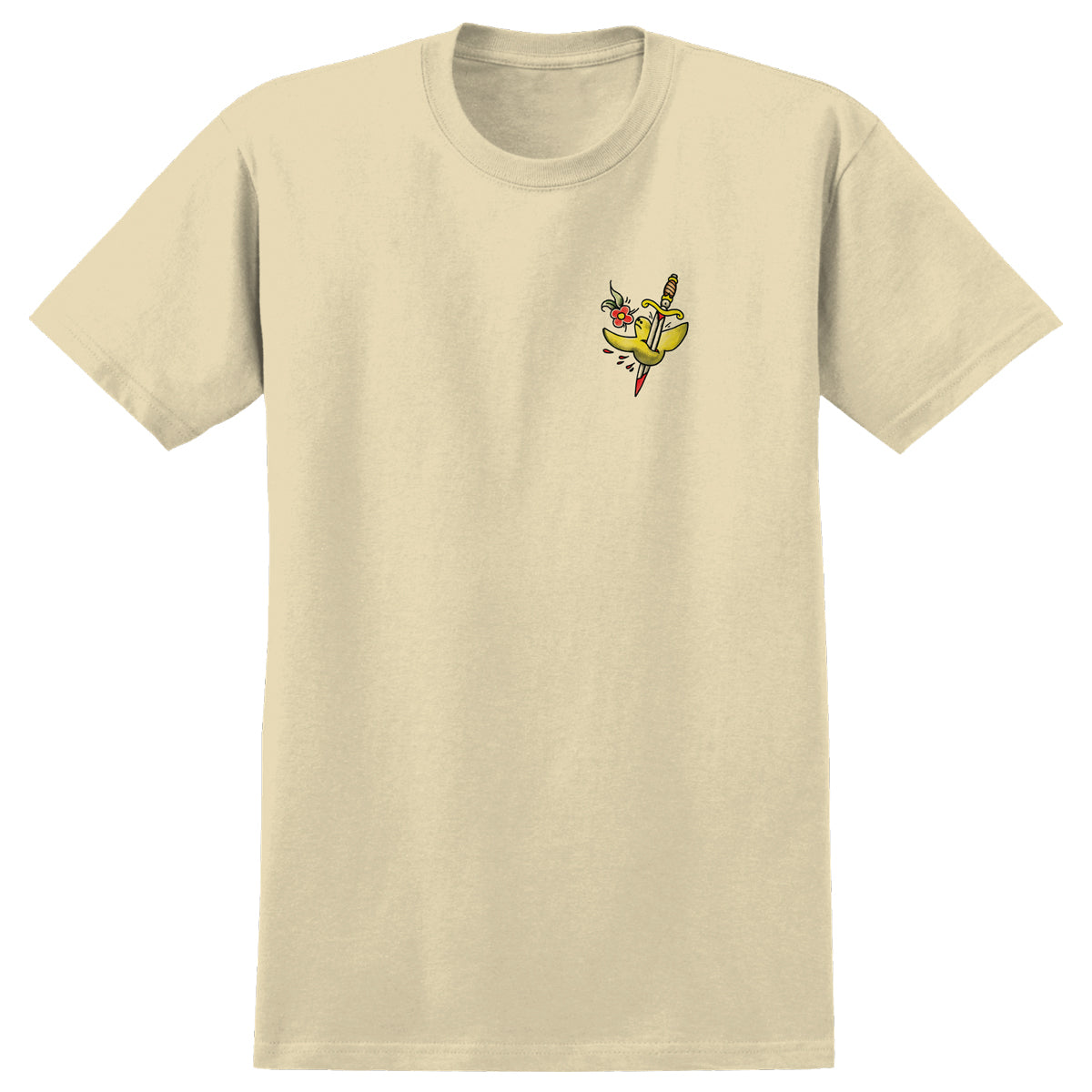 Krooked Flash Tee Cream