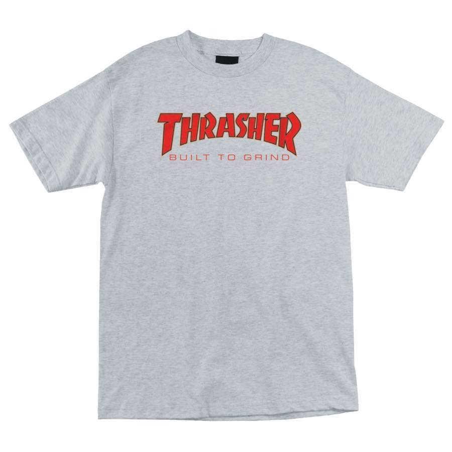 Thrasher Built To Grind Indy Tee Grey