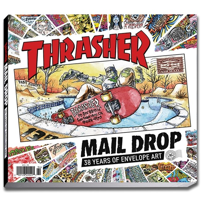 Thrasher Magazine Mail Drop Book