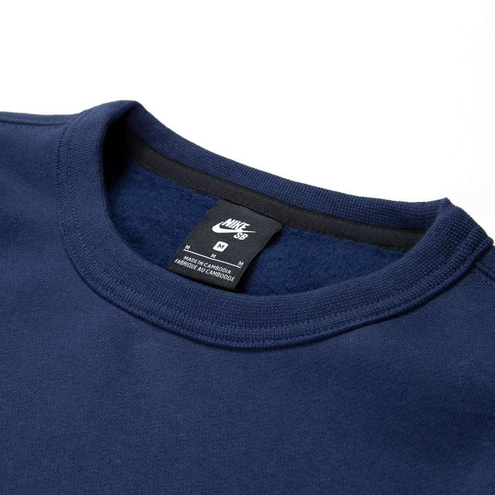 Nike SB Crewneck Midnight Navy/Dark Obsidian