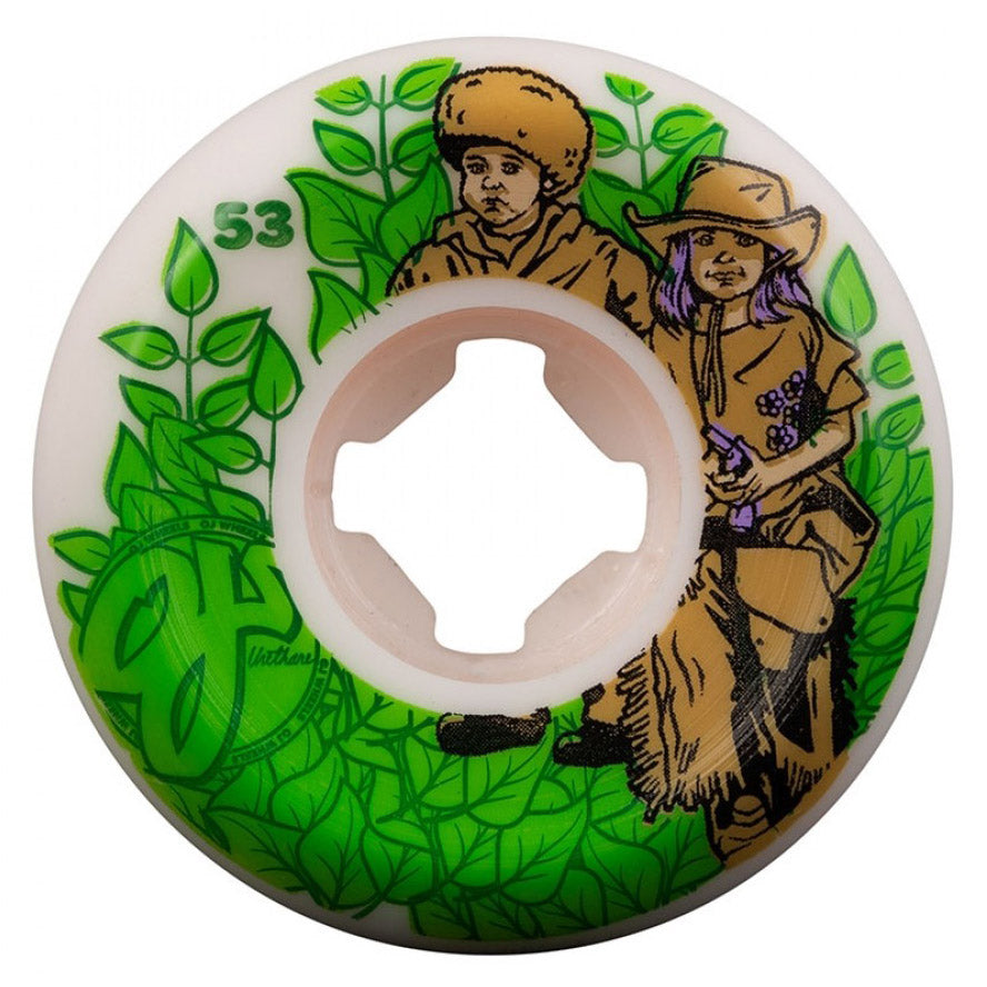 OJ Wheels Nora The Explorer Elite Hardline 101A White 53mm