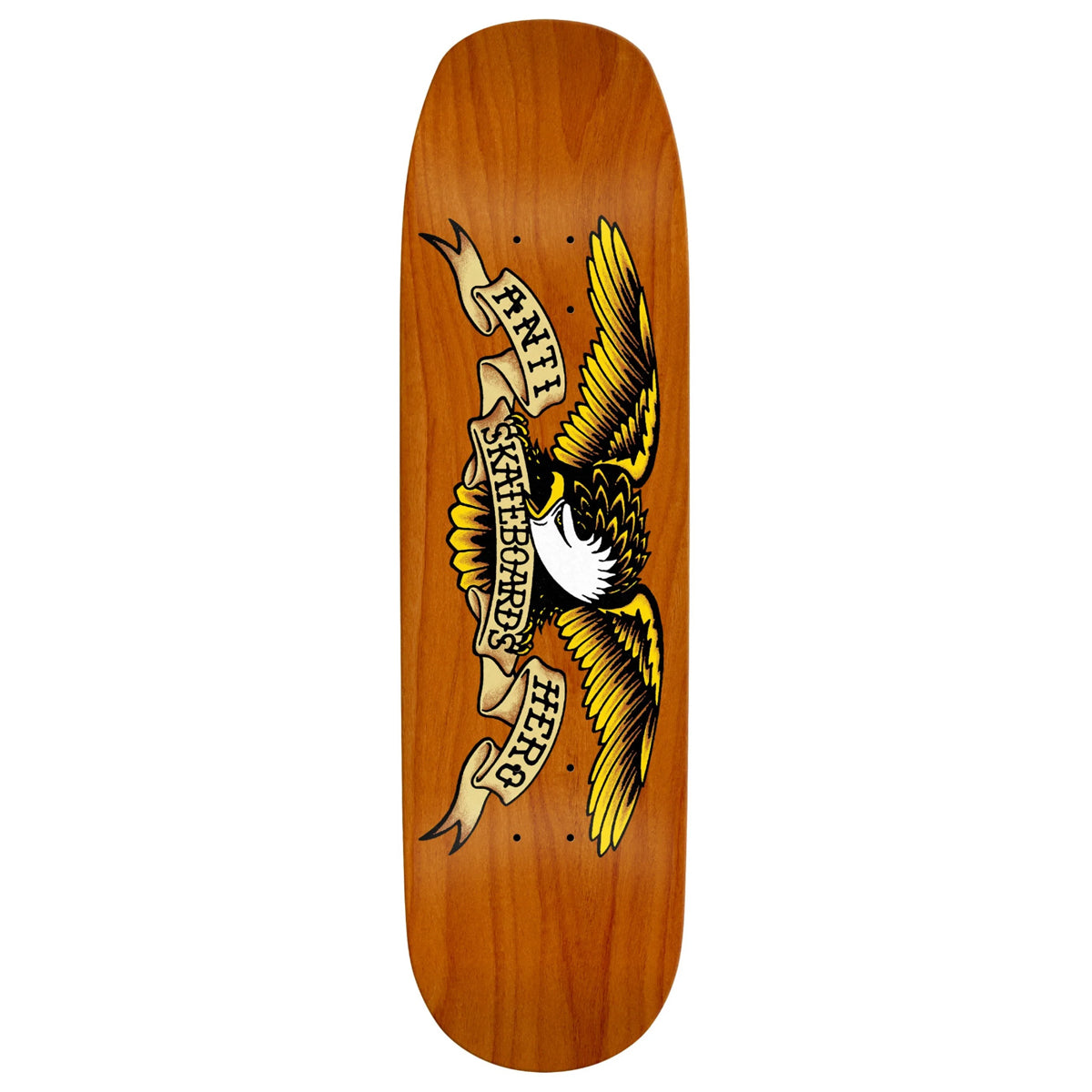 Anti-Hero Eagle Overspray Orange Crusher Deck 9.1""