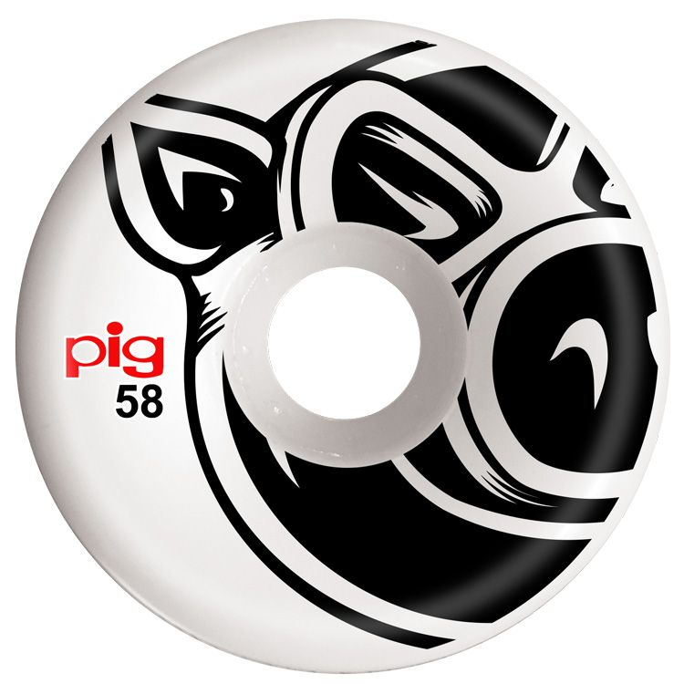 Pig Wheels Pig Head Conical 58mm