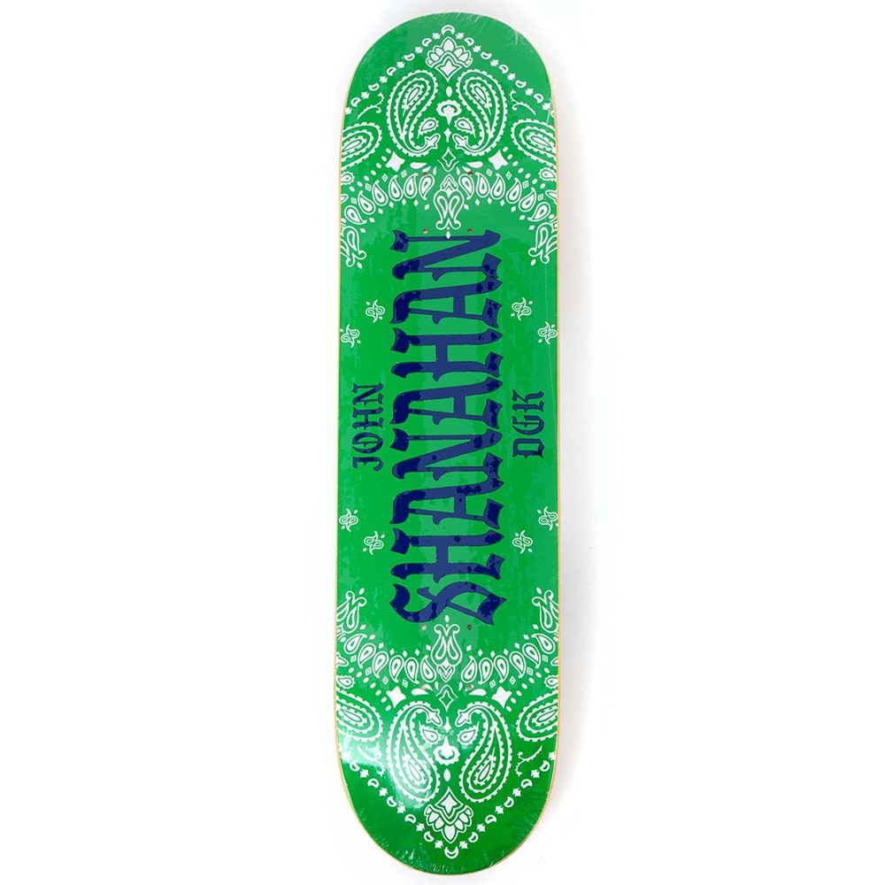 DGK Colors John Shanahan Deck 8.0
