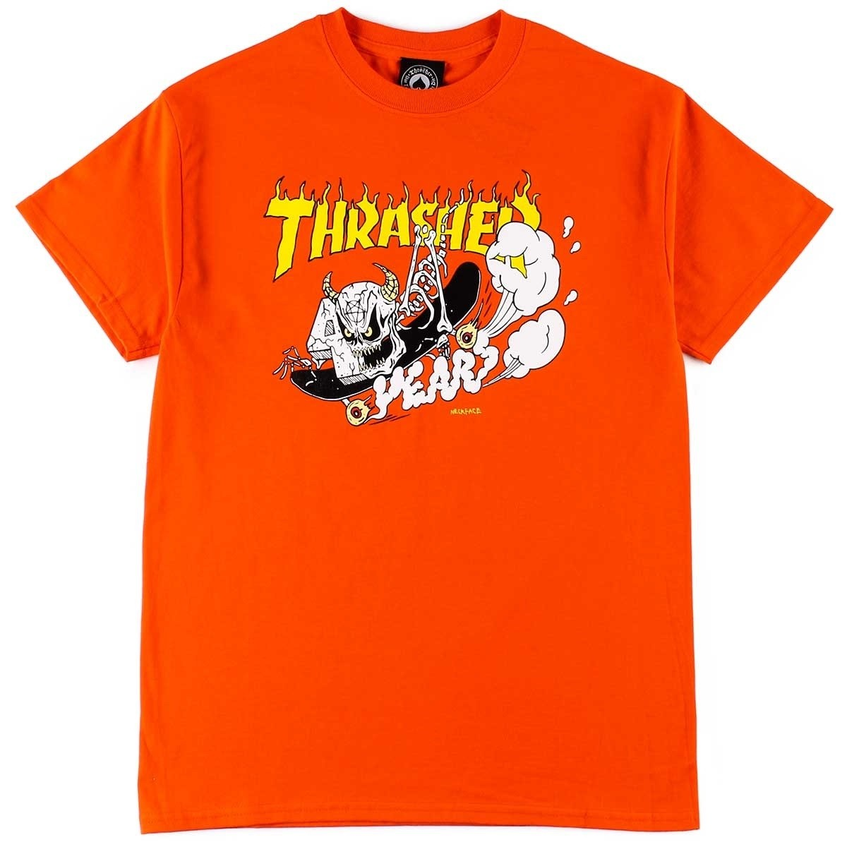 Thrasher 40 Years Neckface Tee Orange