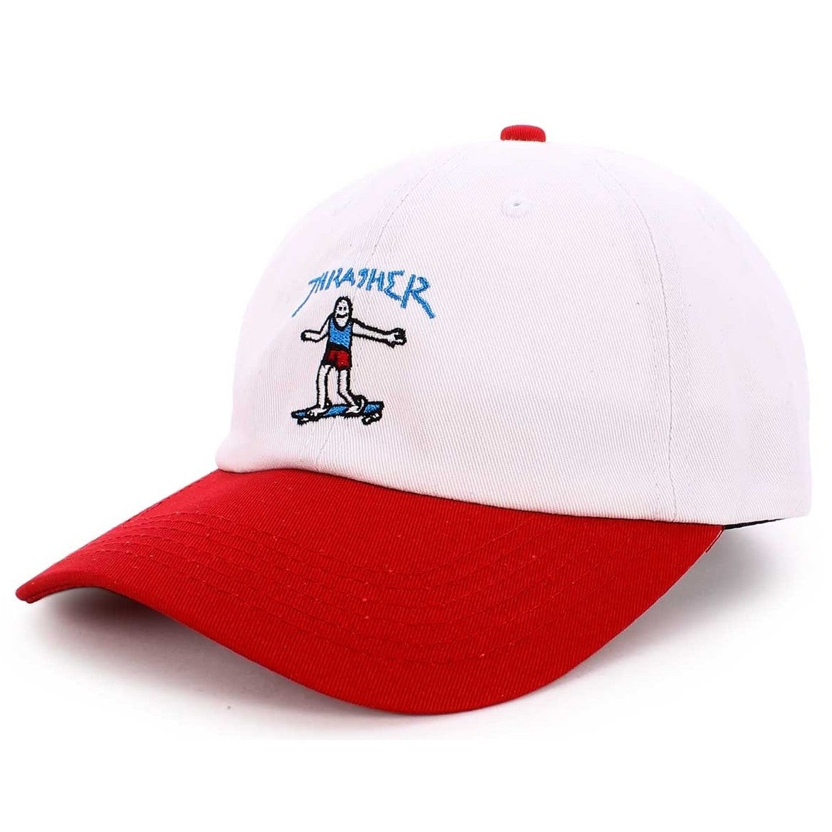Thrasher Gonz Old Timer Hat White/Red
