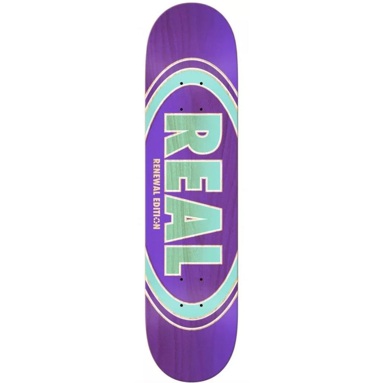 Real Oval Renewal PricePoint Purple Deck 7.56""