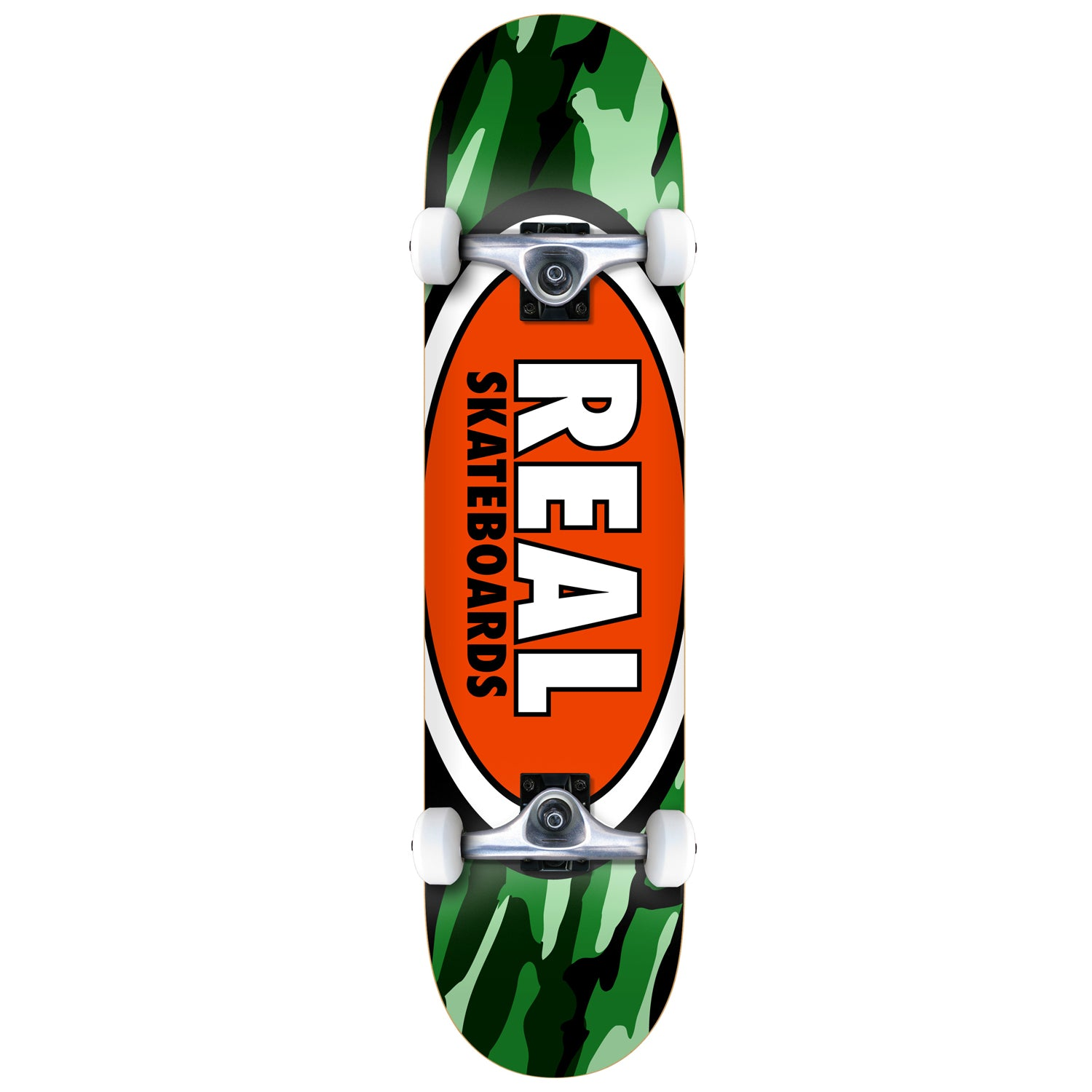 "Real Team Oval Camo Complete 7.75"" (With Free Skate Tool)"
