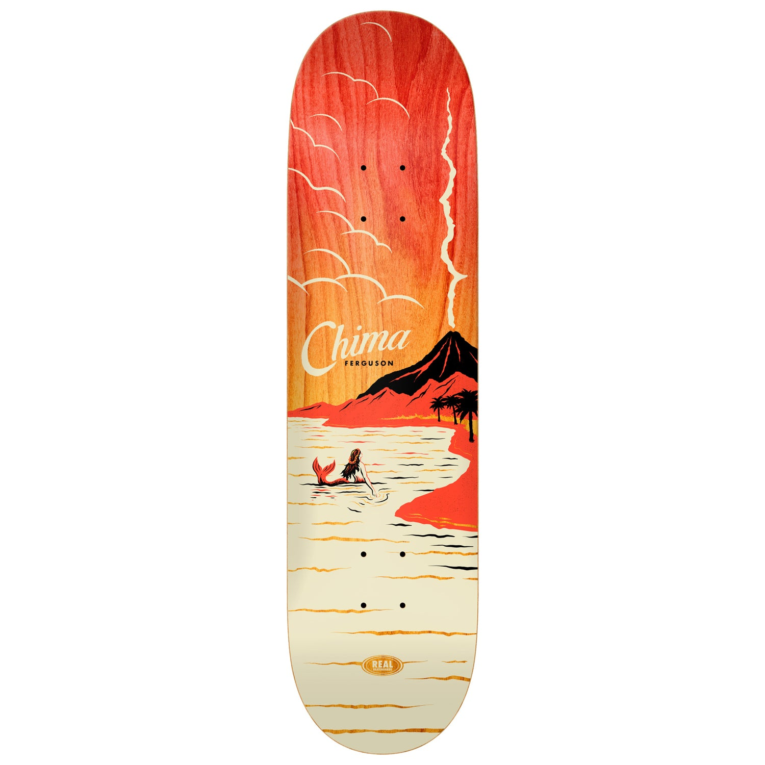 Real Chima Hot Spot Deck 8.06""