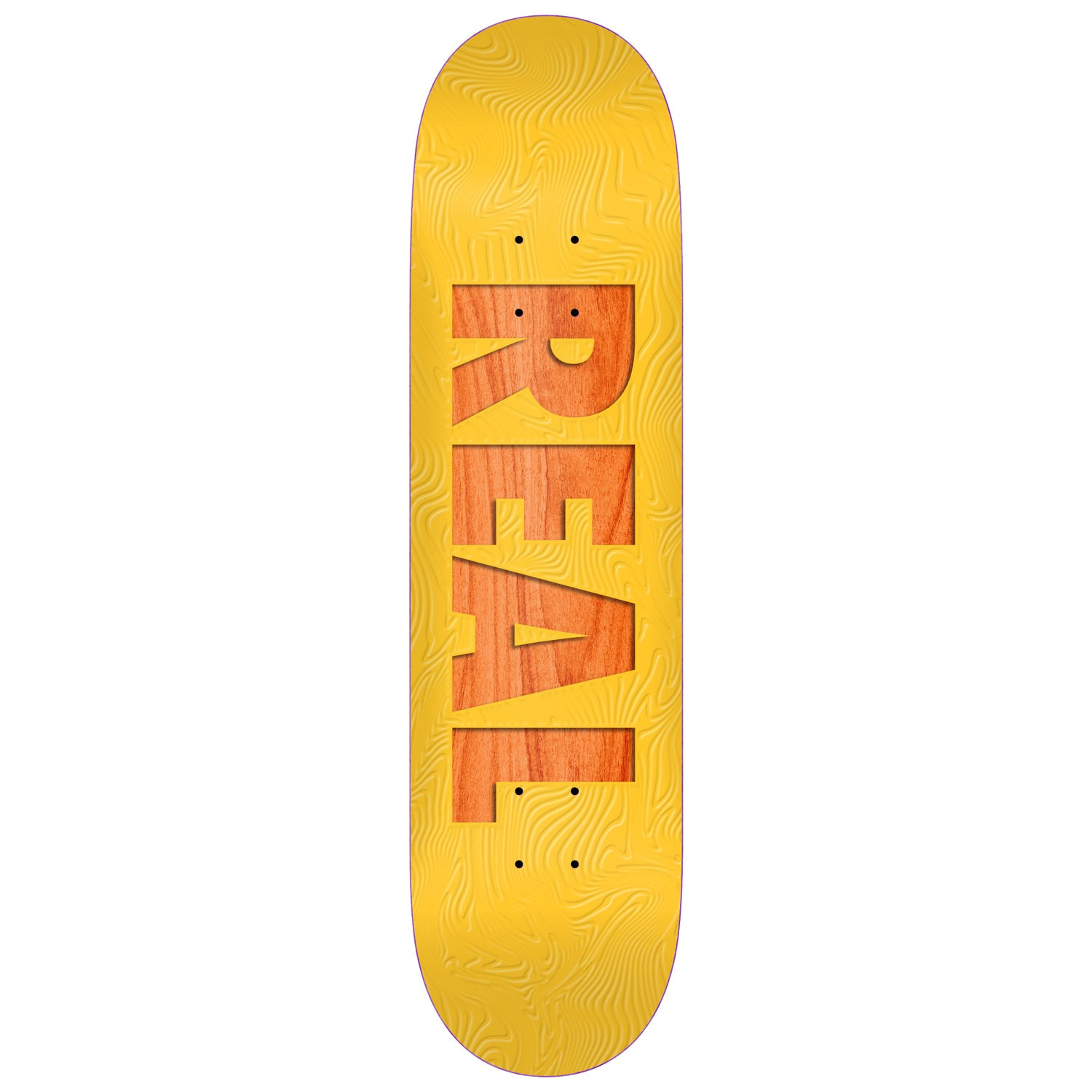 Real Team Bold Series Yellow Deck 8.06""