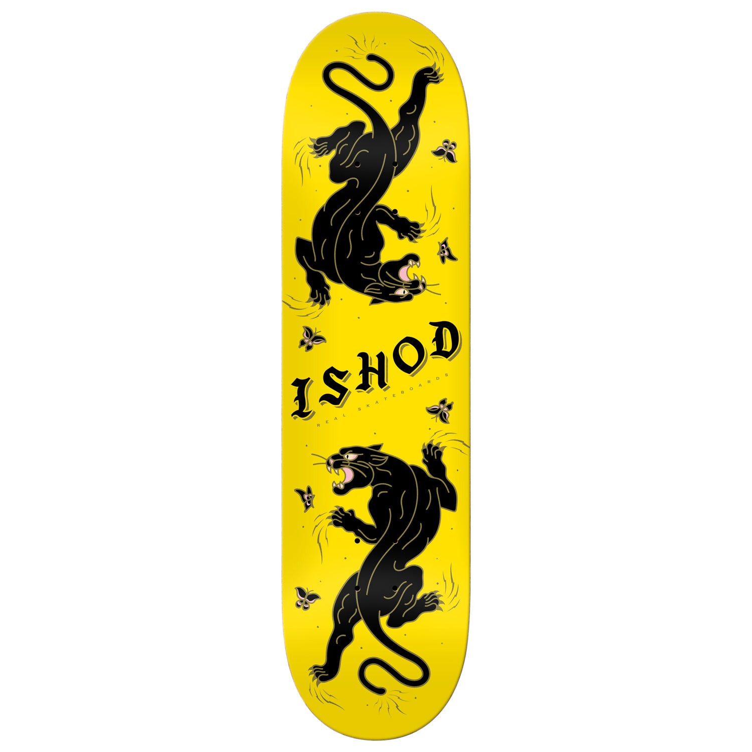 Real Deck Ishod Cat Scratch Yellow 8.5