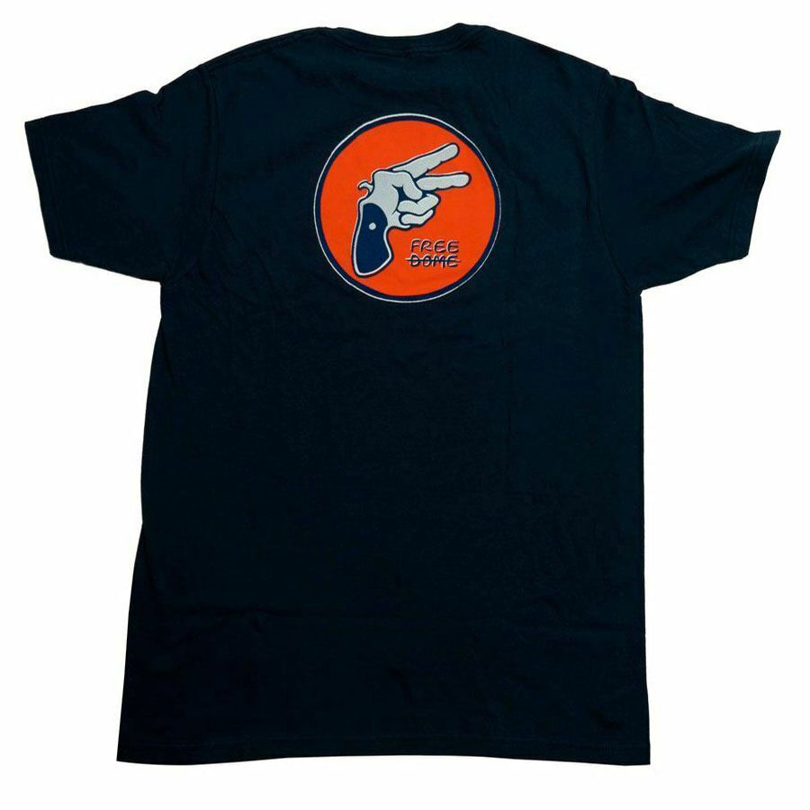 Freedome Free Gun Shirt Navy Blue