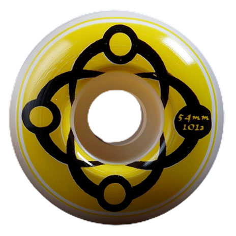 Satori Big Link Wheels 101A Yellow 54mm