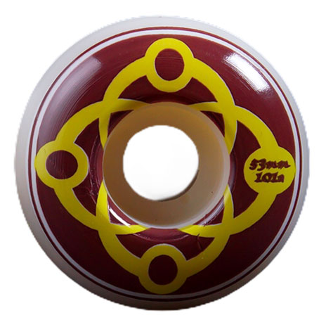Satori Big Link Wheels 101A Burgundy 53mm
